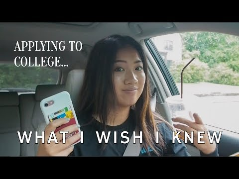 COLLEGE APPLICATION 101 (advice, Tips, What I Wish I Knew)