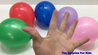 Tung Tom play with Colors Balloons | The Surprise For Kids