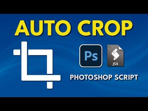 Photoshop Script Auto Crop