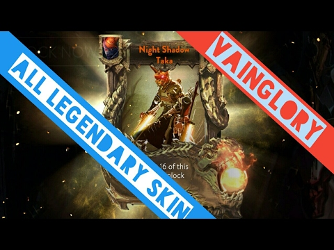 Vainglory[All Legendary Skin Special Effect]