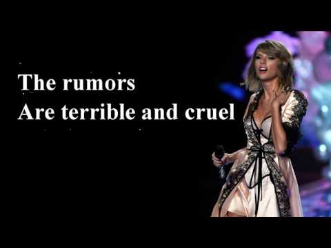 Taylor Swift New Romantics Lyrics