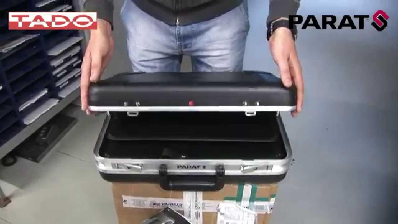 f45d33ee5f7a3 Walizka serwisowa na narzędzia firmy PARAT - YouTube