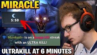 Miracle Night Stalker ULTRAKILL at 6 Minutes Dota 2 7.17