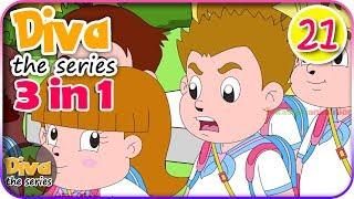 Seri Diva 3 in 1 | Kompilasi 3 Episode ~ Bagian 21 | Diva The Series Official