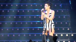 It's Not Fair, by Lily Allen (@ Lotto Arena, October 2009) [HD]