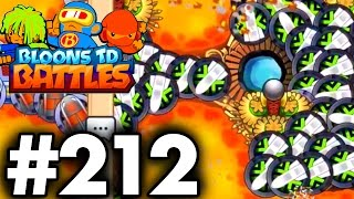 Destroying A ZOMG In ONE SECOND...!!!  | Bloons TD Battles Update | Bloons TD Battles Part 212