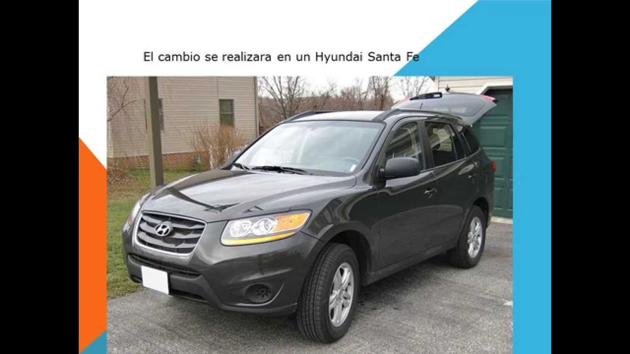 Hyundai Santa Fe Como Cambiar Filtro Habitaculo Filtro