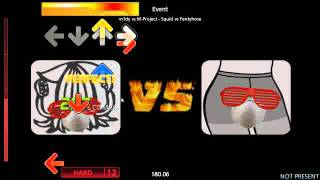 StepMania-m1dy vs m-project-Squid VS Pantyhose