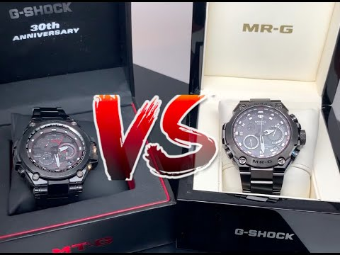 MRG-G1000 VS MTG-S1000 Review and Comparison - Casio Watches MTG VERSUS MRG Mp3