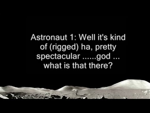 Astronauts Audio Conversation with NASA about UFOs on the Moon - FindingUFO