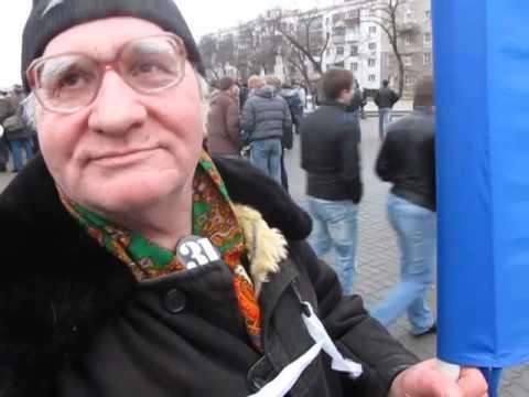 """Митинг """"За честные выборы"""" 2011 24 декабря Ростов-на-Дону"""