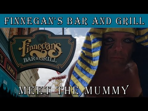 Finnegan's Bar And Grill Review At Universal Studios Orlando And We Meet The Mummy