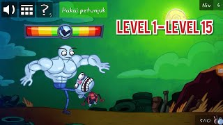 Troll face quest video game 2   level 1-15   Android gameplay