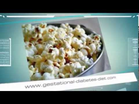 Colored Popcorn Recipe - gestational diabetes recipe