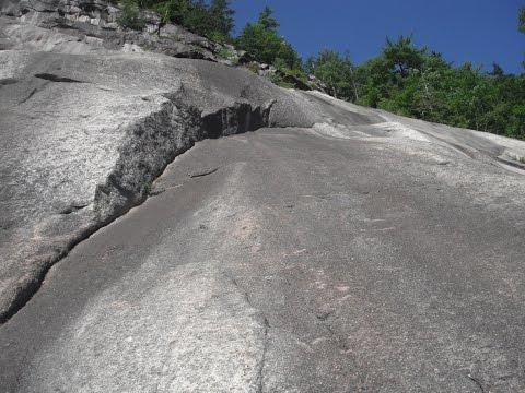 Beginners Route Pitch 4 - Whitehorse Ledge: North Conway, New Hampshire
