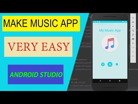 Create Music Player App In Android Studio 3.2.0 [ Very Simple ]