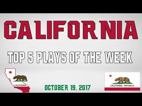 California - Top 5 Plays - Oct. 19