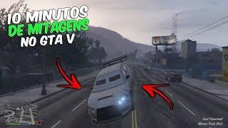 10 MINUTOS DE CAGADAS E MITAGEM NO GTA V #42