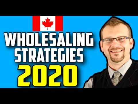 Tips For Young Wholesalers | Canadian Wholesale Strategies 2020