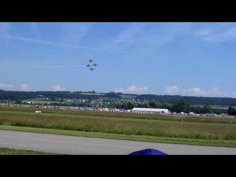 Patrouille Suisse at Air Display Grenchen