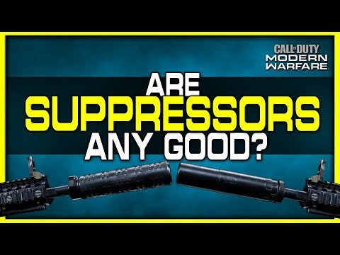 Are Suppressors Any Good In Modern Warfare?  (Which Suppressor Is Best?)