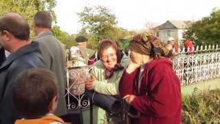 Un grup de ortodocsi au blocat ograda unde a fost programata o evanghelizare!