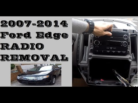 How To Remove Replace Radio In Ford Edge 2007-2014