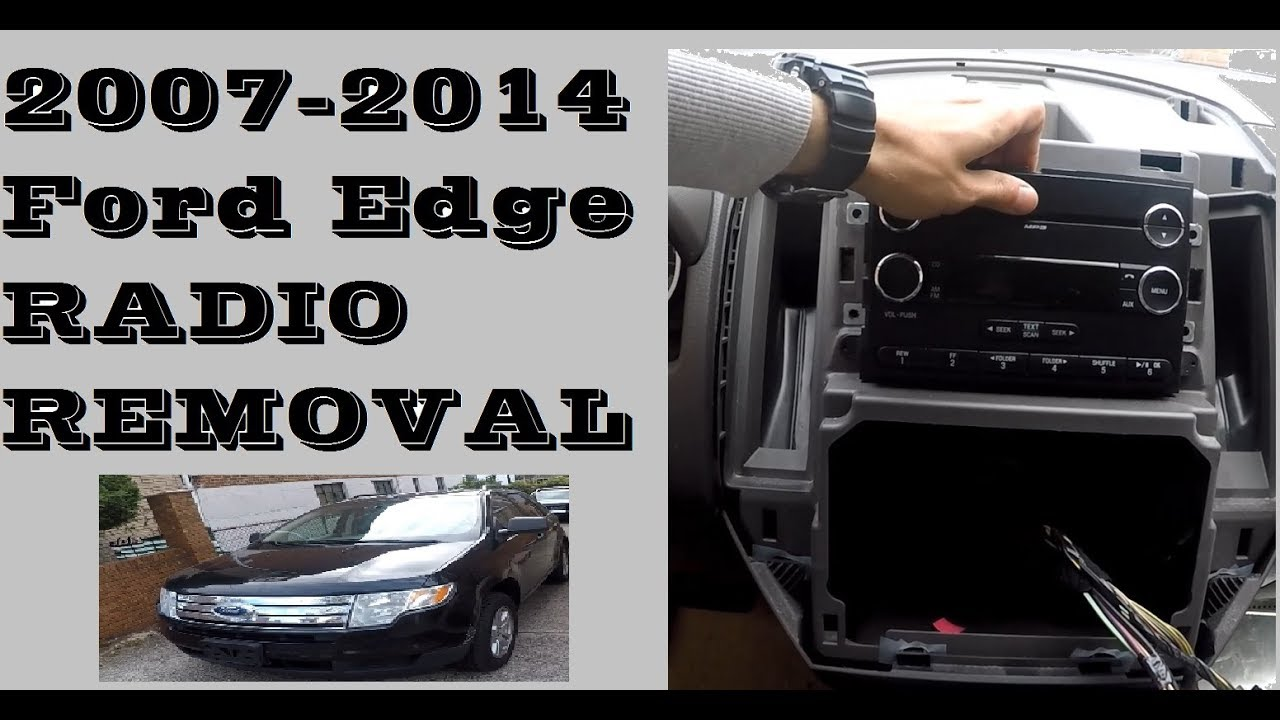 How To Remove Replace Radio In Ford Edge 2007 2014 Youtube Fusion Display