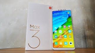 Здоровенный Xiaomi Mi MAX 3! Распаковка и обзор