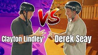 Clayton Lindley vs Derek Seay GAME OF SCOOT at AZ Grind Skatepark