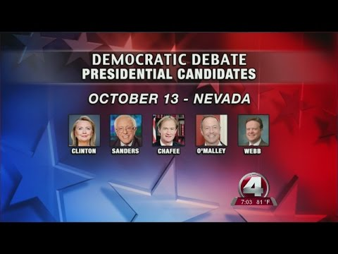 Democratic presidential candidates slowly gearing up for the first debate