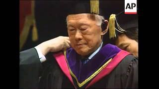 Senior minister receives award