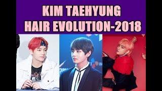 BTS V/ Kim Taehyung Hair Evolution-2018