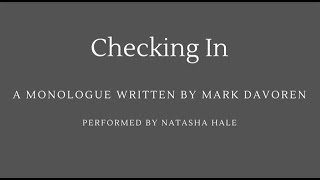 Checking In By Mark Davoren