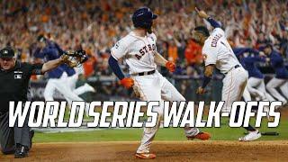 MLB   World Series Walk-Offs