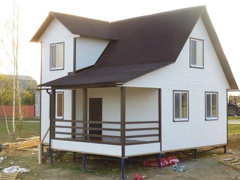 Строительство дома из газобетона под ключ в Томске | House and Home