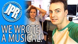 """WE WROTE A MUSICAL - Behind The Scenes on """"Between Us - A New Musical"""""""