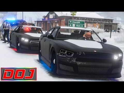 GTA 5 Roleplay - DOJ #33 - Federal Operatives (Criminal)