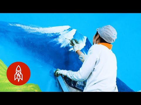 More Than Murals: The Artist Keeping Japan's Bathhouse Art Alive (Việt Sub)
