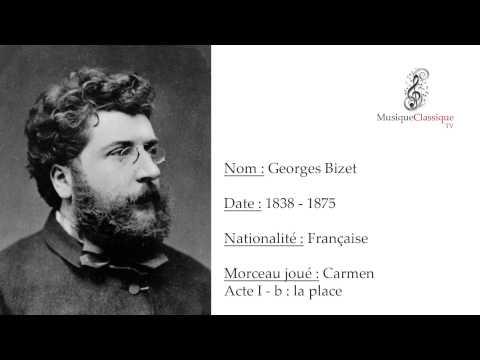 ♬ CARMEN, ACTE I, B - LA PLACE ♬ | GEORGES BIZET | MUSIQUE CLASSIQUE TV ♬