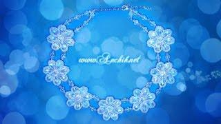 Tutorial: Wedding necklace / Свадебное колье из бисера (мастер-класс)