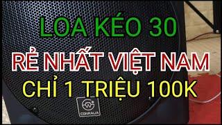 Loa kéo 3 tấc Conraua rẻ nhất Việt Nam
