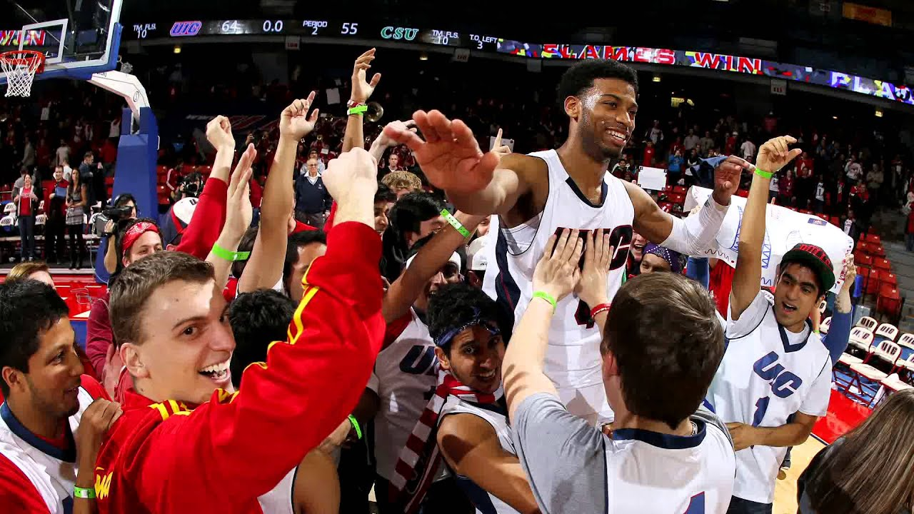 UIC Men's Basketball 2013 - The Flames Are On Fire! - YouTube
