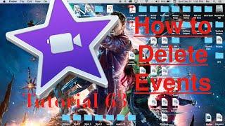 Delete Events in iMovie 10.0.6 | Tutorial 63