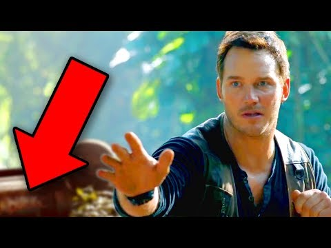 Download Youtube: Jurassic World Fallen Kingdom TRAILER BREAKDOWN - Easter Eggs & Details You Missed!