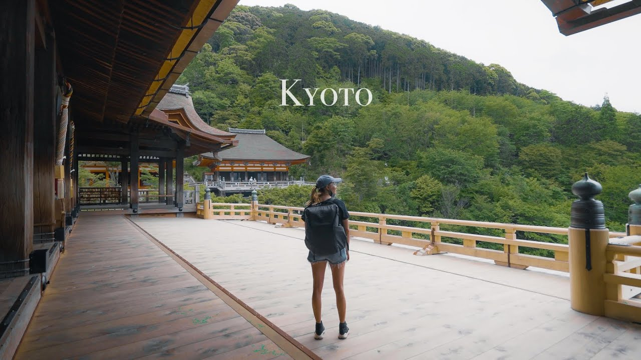 Visiting All The Main Tourist Attractions In Kyoto - Completely Empty