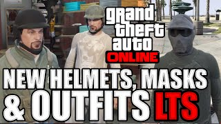 GTA 5: New Helmets, Masks and Gloves! (GTAO Last Team Standing Update 1.17 Gameplay)(All new Bulletproof ballistic helmets, paintball masks as well as a wide selection of new paintball based attire and GLOVES! There are also 20 new chute bags ..., 2014-10-02T22:43:27.000Z)