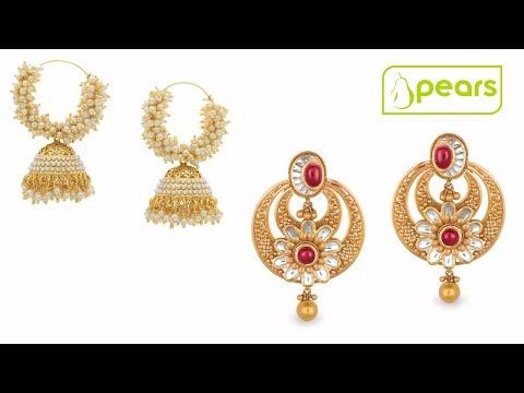 latest pearl gold earring designs - pearl stud earrings - stylish sea pearl fresh pearl gold jewelry