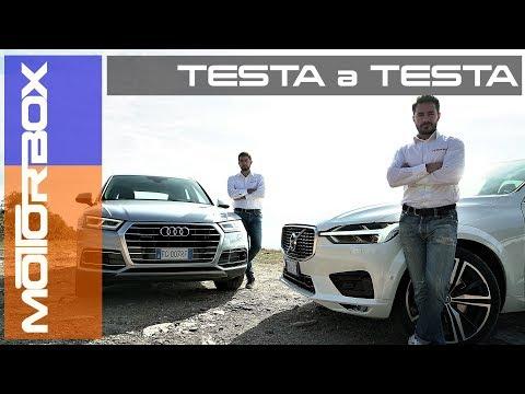 Nuova Volvo XC60 vs nuova Audi Q5 | Confronto tra SUV premium