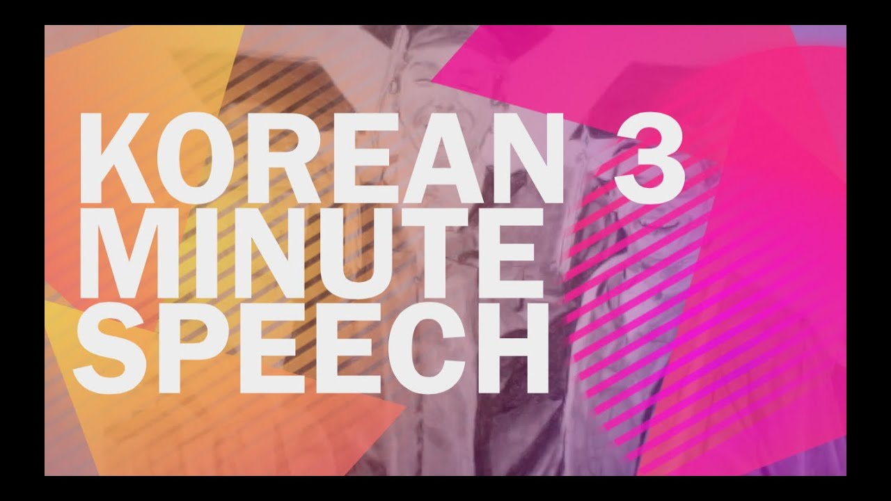 3 minute speeches These are some of my favorite songs for lyrical dance  a beautiful song with 3- part harmony and 3/3 time, and you my love are gone.